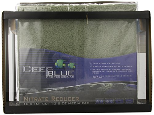 Deep Blue Acrylic Professional ADB11001 Standard Aquarium Tank, 2.5-Gallon