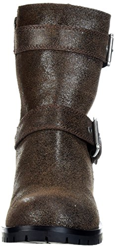 Bralen Aldo Boot Motorcycle Women's Brown Dark vwWfq45Px