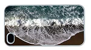 Hipster for sale iPhone 4S cases beach wave foam PC White for Apple iPhone 4/4S