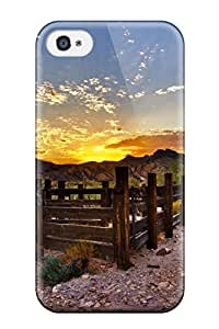 Hot New Fence Case Cover For Iphone 4/4s With Perfect Design