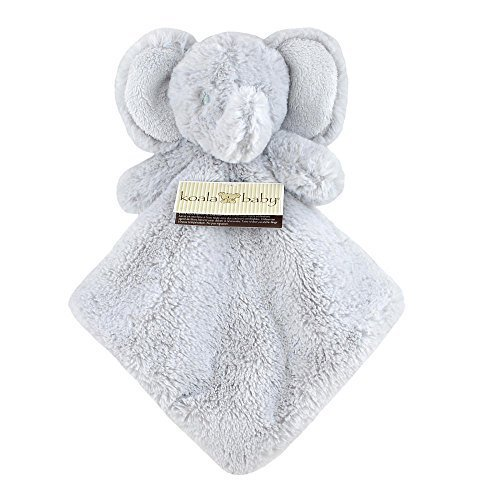 Koala Baby Grey Elephant Plush Security Blanket by Koala Baby