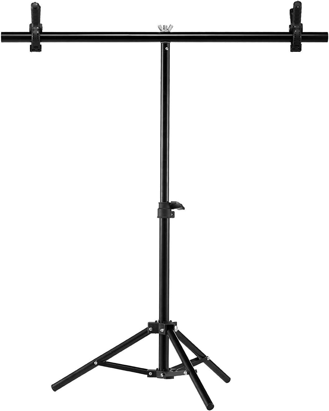 Selens Photography Backdrop Stand 30 Inches Small T Shape Support Light Stands Mini Holder for Photo Studio Tabletop Desktop Background Paper