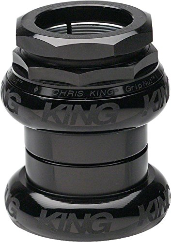 Chris King GripNut 1 1/4'' Threaded Black Sotto Voce Headset by Chris King
