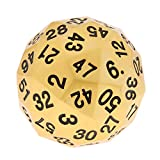 MagiDeal 38mm Alloy Polyhedral Dice 60 Sided D60 Die for D&D RPG Board Game w/ Bag #2