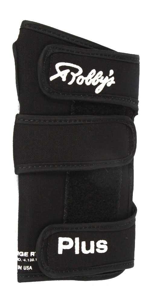 Robby's Coolmax Plus Left Wrist Support, Black, Medium by Robby's
