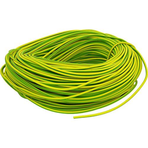 6mm Earth Wire Sleeve sleeving yellow green (2 meters, 4 meters or ...