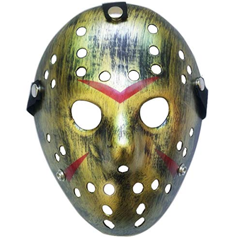 Is Halloween Horror Nights Good This Year (Junyulim Jason Voorhees Mask Cosplay Mask Halloween Mask for Masquerade Party Bar Cosplay Halloween(Jason Mask)