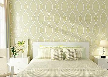 Haha Tapeten Wallpaper European Style Minimalist Modern 3D Dreidimensionale  Non Woven Gestreifte Wohnzimmer Schlafzimmer