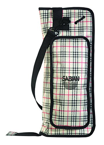 (Sabian QS1PD Drumstick Bag, Plaid)