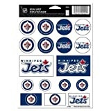 NHL Winnipeg Jets Vinyl Sticker Sheet, 5