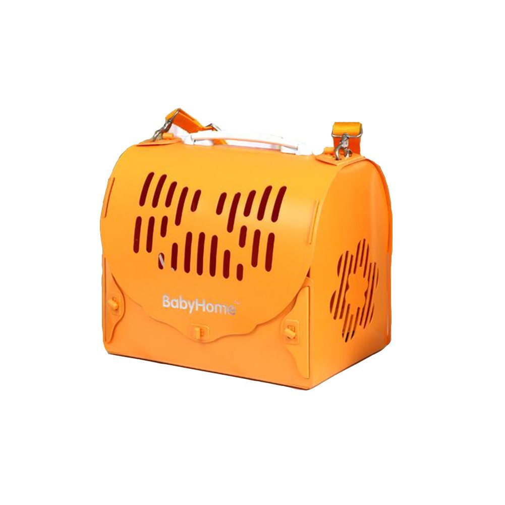 orange Small orange Small DALL Carriers—— FS-814 Outcrop Design Cats And Dogs Pet Package Pet Carrier Travel Bags Easy Inssizetion Comfortable And Breathable (color   orange, Size   S)