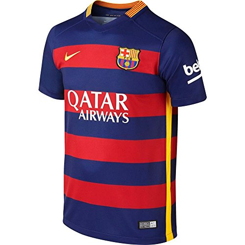 low priced a2ac4 c447e Nike Messi #10 Barcelona Home Soccer Jersey 2015/2016 YOUTH ...
