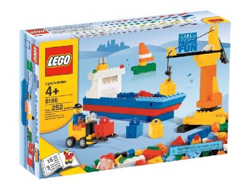 LEGO 6186 Build Your Own LEGO Harbor (レゴ 港セット)   B000WOEE74