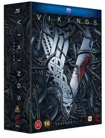 - Vikings Series 1-4 15-Disc Box Set [ Blu-Ray, Reg.A/B/C Import - Sweden ]