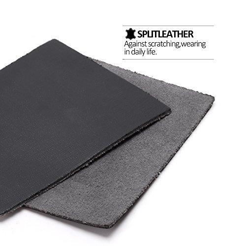 Wallet Organizer Pocket Protector Zip Checkbook Clutch Leather With Genuine Handbag Mens teemzone Black Card Bag Case Rfid xqZYwZ8p