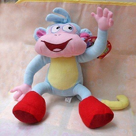 Dora the Explorer 10 Inch Anime Animal Stuffed Plush Toys Boots the Monkey ()