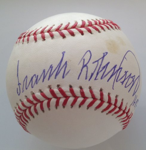 Frank Robinson Signed Mlb Baseball - 6