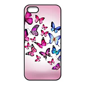 Butterfly World Hight Quality Plastic Case for Iphone 5s