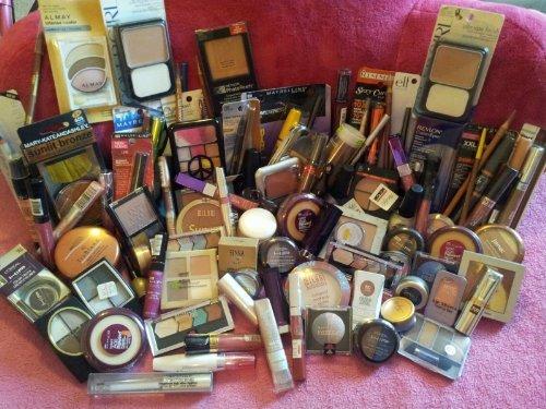10 pièce Lot de marque Cosmétique maquillage Rimmel, L'oreal'hard Candy, maybelline, & plus