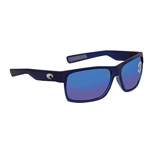 1273a8f358522 Amazon.com  Costa Del Mar Costa Del Mar HFM193OBMGLP Half Moon Blue Mirror  580G Bahama Blue Fade Frame Half Moon