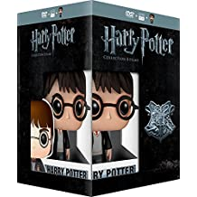 Harry Potter Collection - 8-DVD Box Set & Harry Potter FUNKO Figurine ( Harry Potter and the Sorcerer's Stone / Harry Potter and the Chamber of Secrets /