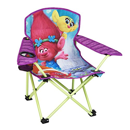 Dreamworks Kids Trolls Camp Chair, Purple