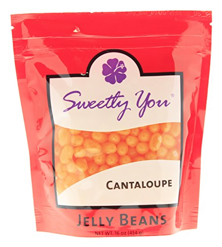 JELLY Belly 16 OZ Cantaloupe Flavored Beans. (Approximate...