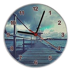 Dkora-T - Reloj personalizado cristal redondo - 30cm 8
