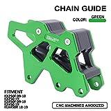 AnXin Motorcycle CNC Chain Guide Guard Protection For Kawasaki KX250F 2009-2018 KX250 2019 KX450F 2009-2018 KX450 2019 KLX450R 2018-2019