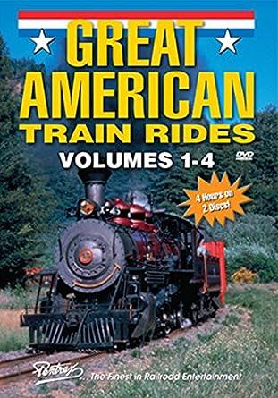 Amazon Com Great American Train Rides Volumes 1 2 3 4