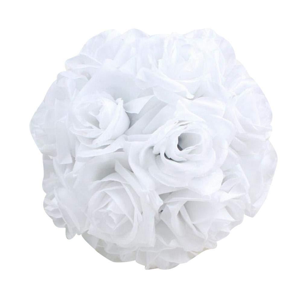 Amazon Silk Flower Balls Wedding6 Inch Artificial Flower Rose