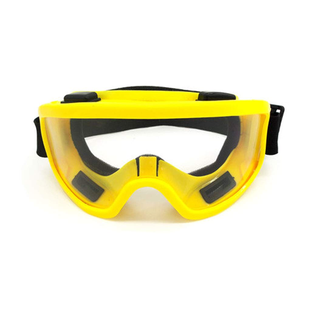 FH Schutzbrille, Sand-Beweis-transparenter Industrieller Schü tzender Augenschutz, Reitbrillen (Farbe : A) FQYHMJ