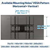 Mounting Dream TV Wall Mount TV Bracket for Most 32-55 Inch Flat Screen TV/ Mount Bracket, Full Motion TV Wall Mount with Swivel Articulating Dual Arms, Max VESA 400x400mm, 99 LBS Loading MD2380 Variant Image