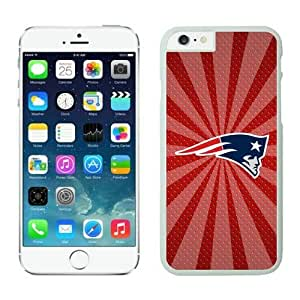 NFL iPhone 6 Plus 5.5 Inches Case New England Patriots White iPhone 6 Plus Cell Phone Case ONXTWKHC2722