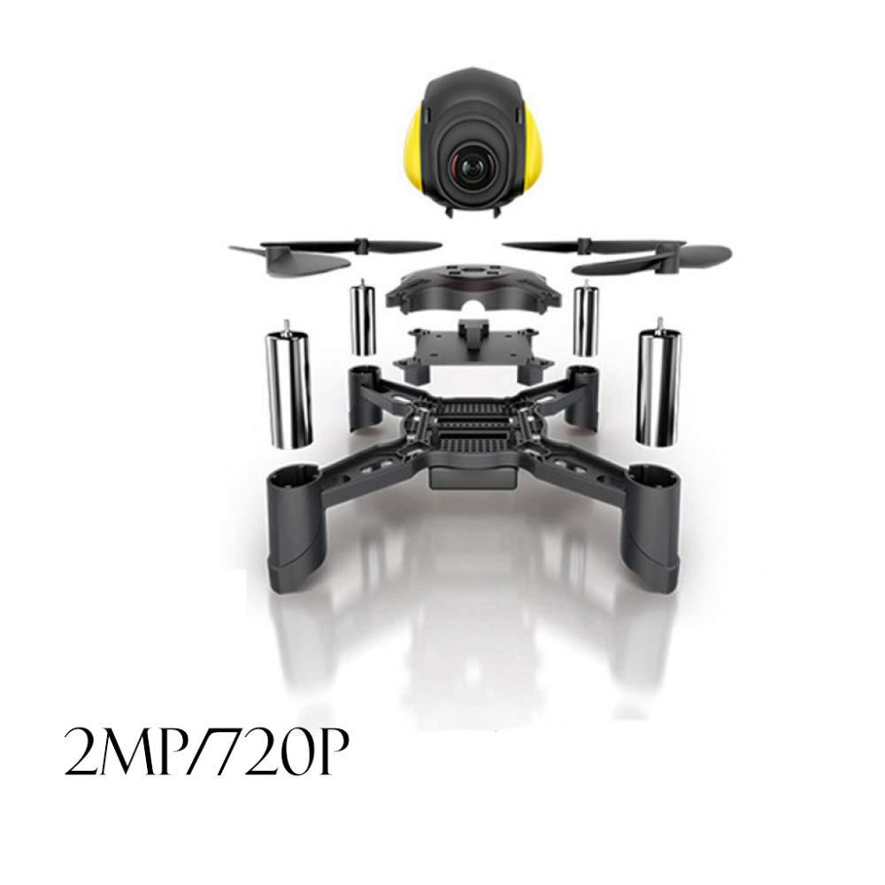 ERKEJI Drohne Schwerkraft Induktion Fernbedienung Mini Vier-Achs Flugzeug Spielzeug Flugzeug 480p 720p Aerial Photo Real-Time WiFi-FPV VR C