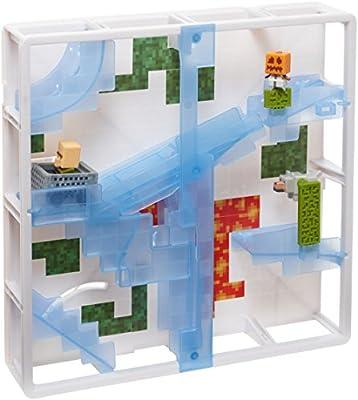 Minecraft Hotwheels Track Blocks Glacier Slide Playset from Mattel