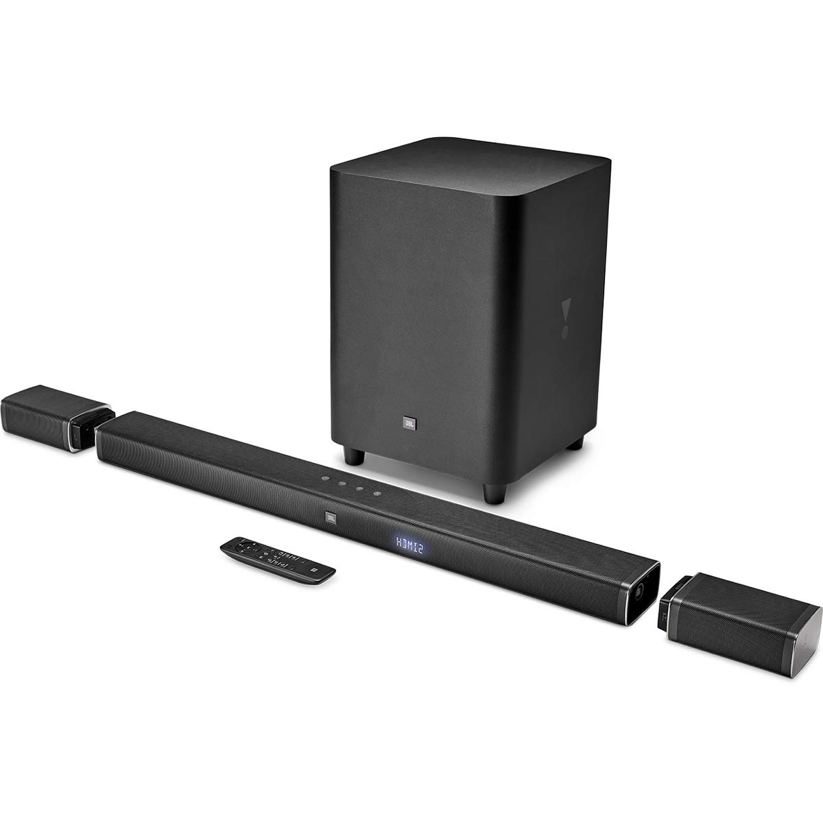 JBL 5.1 Channel 4K Ultra HD Sound bar with True Wireless