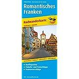 Romantisches Franken: Radwanderkarte mit Ausflugszielen, Einkehr- & Freizeittipps, wetterfest, reissfest, abwischbar, GPS-genau. 1:100000 (Radkarte/RK)
