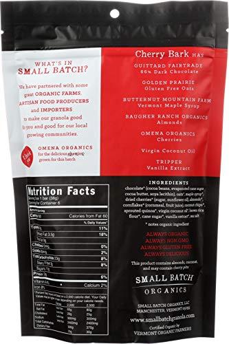 SMALL BATCH ORGANICS Organic Cherry Bark Granola, 8 OZ by Small Batch Organics (Image #1)