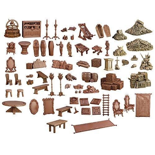 DUNGEON DEPTHS - TERRAIN CRATE - MANTIC (Room Magic Set Cabinet)