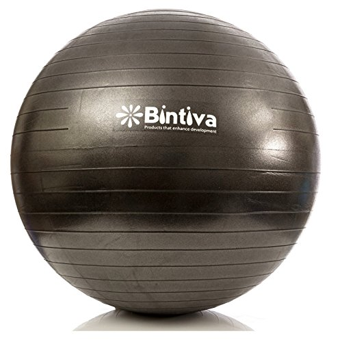 Exercise Ball 75cm Anti Burst: Anti-burst Fitness Exercise Stability Yoga Ball / Swiss