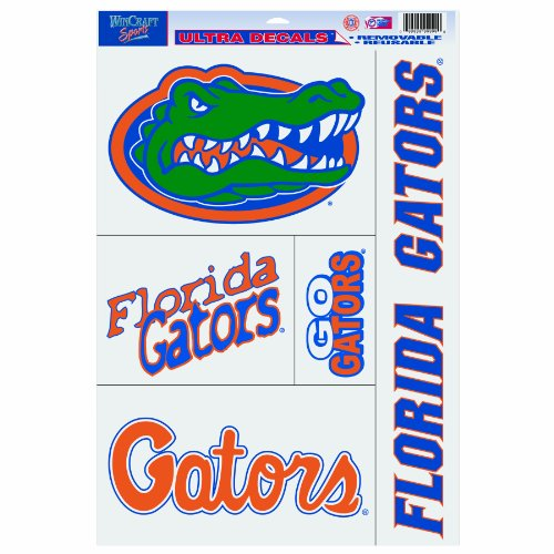 Ncaa Decal Ultra (NCAA Florida Gators 11-by-17 Ultra Decal)