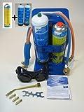 CFH Poste de soudage autogène + 2 bouteilles d'oxygène et 1 bouteille de gaz AT3000