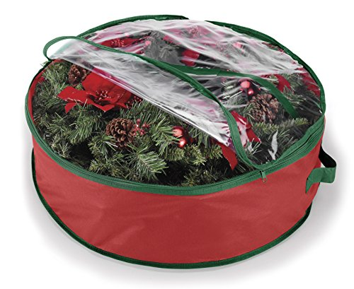 Whitmor Wreath and Garland Bag for 30-Inch Wreaths -