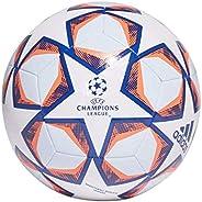 Adidas Bola de futebol masculina FIN 20 TRN, branco/time azul royal/coral sinal/matiz celeste, 5
