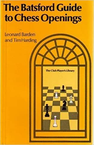 Book Batsford Guide to Chess Openings by Leonard Barden (1981-11-03)