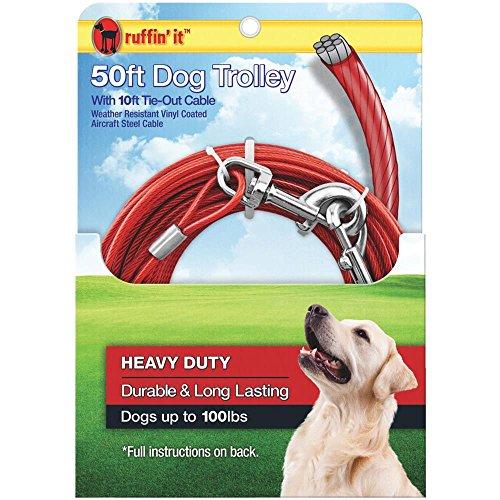 50' HW Dog Trolley - 50ft Trolley