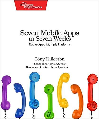 Seven Mobile Apps In Weeks Native Multiple Platforms Pragmatic Programmer 1st Edition