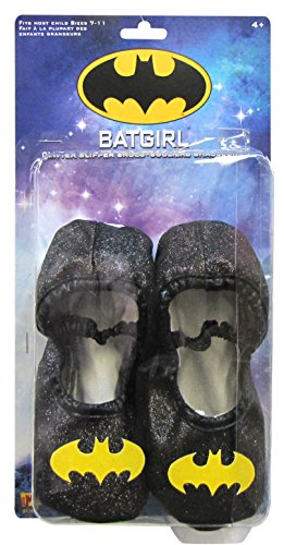 Batgirl Glitter Slipper Shoes]()
