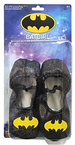Batgirl Glitter Slipper Shoes